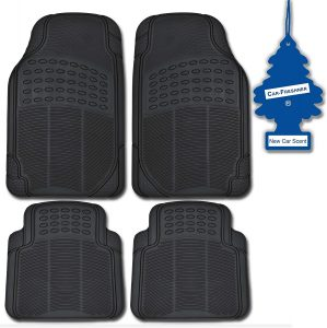 THE BEST CHEVY CAMARO FLOOR MATS - BDK Black